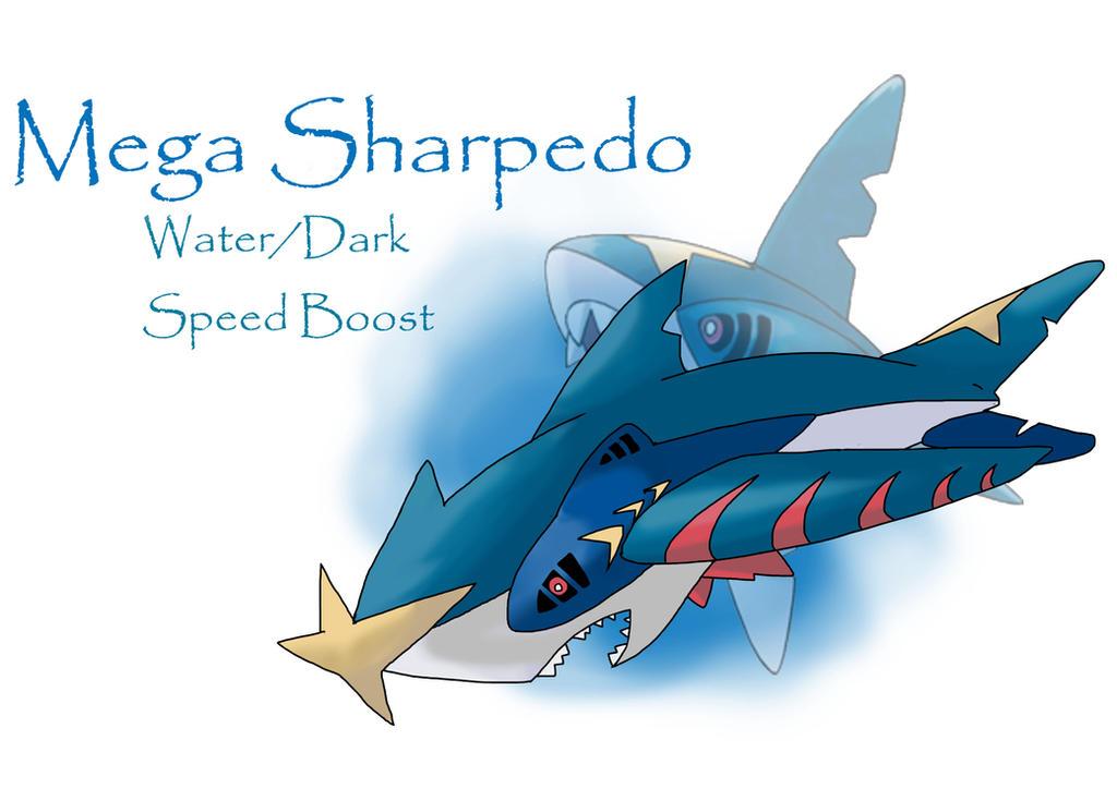 Mega Sharpedo Mega sharpedo by shinygazterra