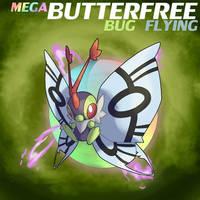 Mega Butterfree by ShinyGazza
