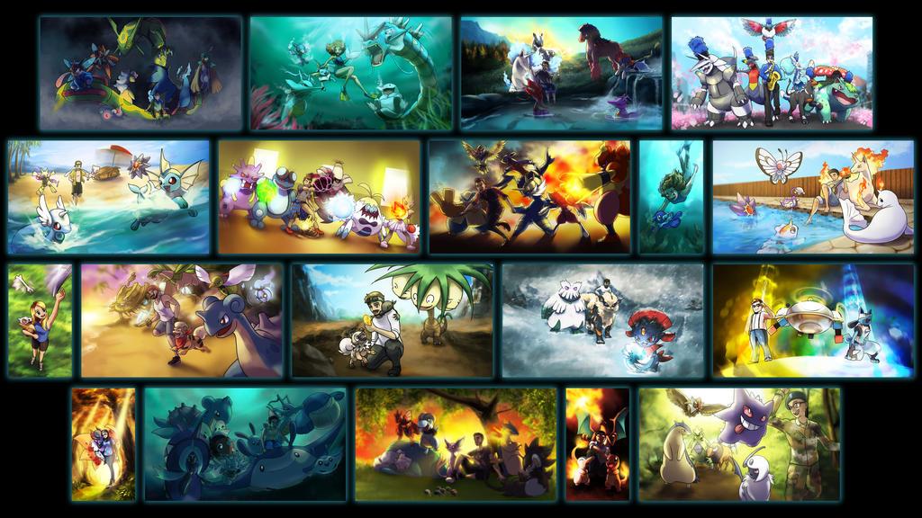 Commissions by ShinyGazza