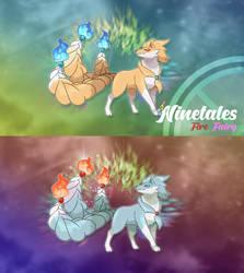 Mega Ninetales by ShinyGazza