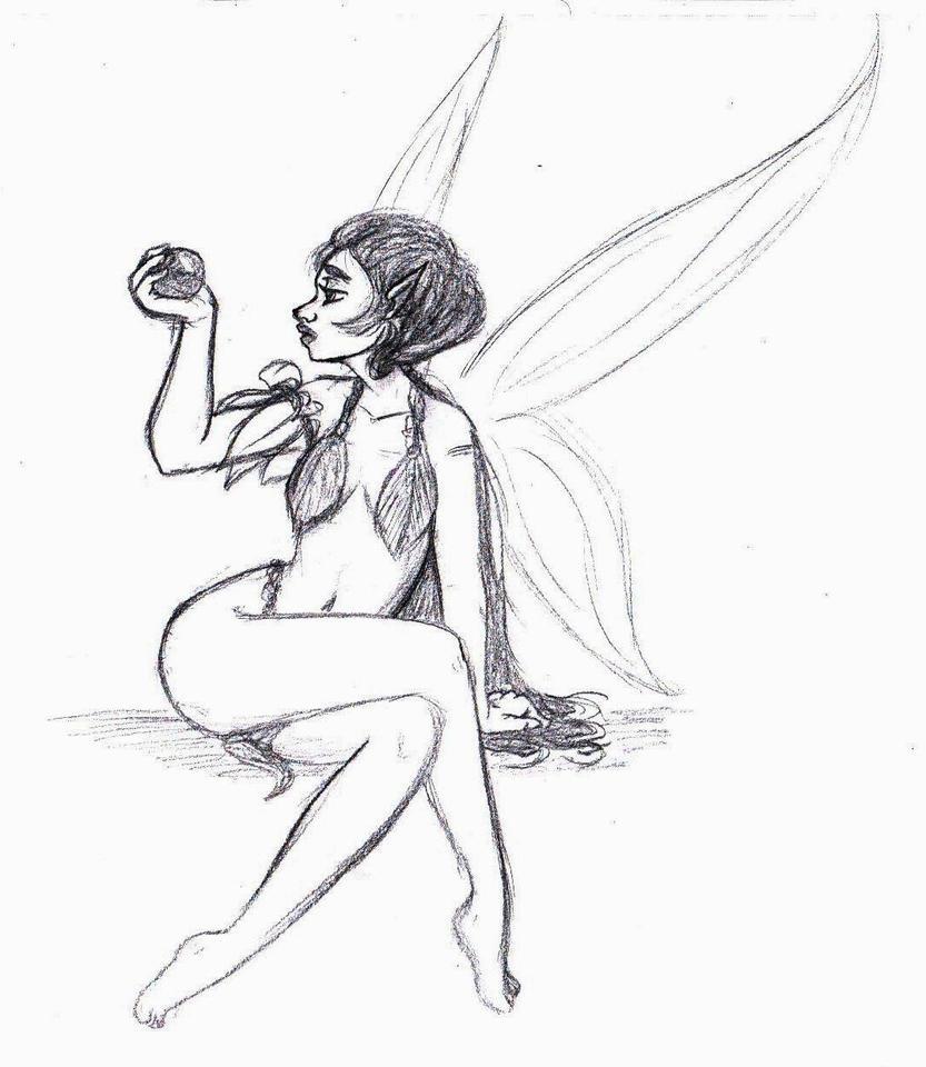 creator galleries related beautiful fairy drawings fairy drawings ...
