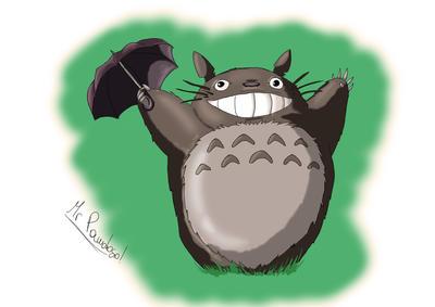 Totoro FanArt MrPandoso by MisterPandoso