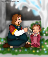Springtime in Gondor by cuddlesaurus21