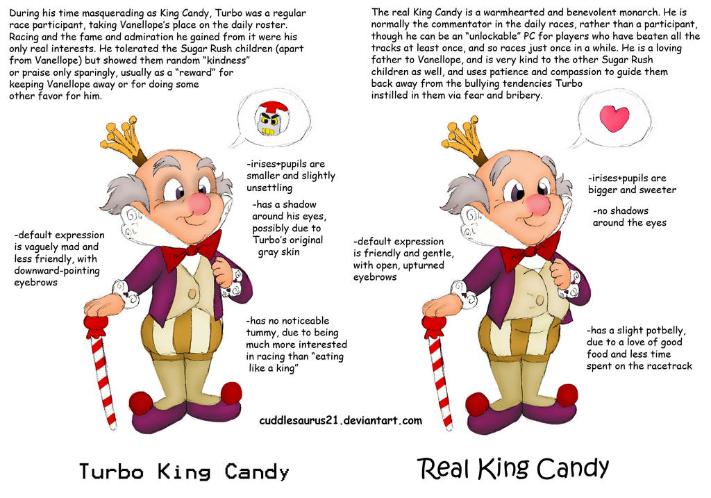 Turbo!KC vs Real!KC Comparison by cuddlesaurus21