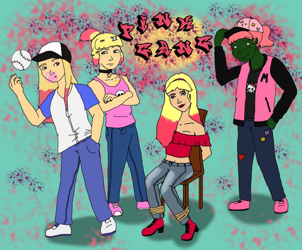 Pink Gang by Donnysgirl