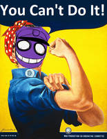 Purple Guy, Why? by CandiThePirateCat123