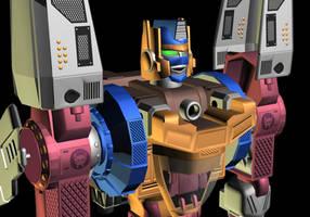 Optimal Optimus Waist Up 3 by WishmasterInRlyeh