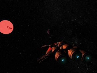 Heading to Gliese 581 g 1 by WishmasterInRlyeh