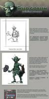 Wild Goblin Painting Process