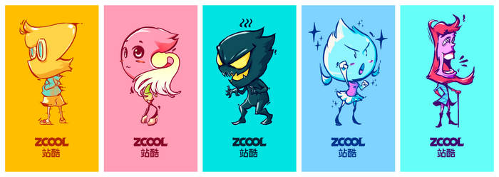[ZCOOL TEAM -Z-] character design