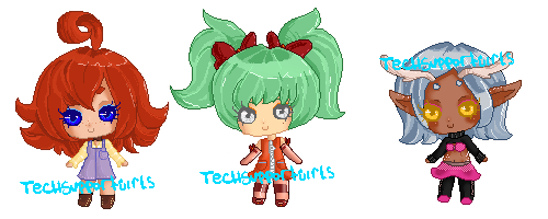 Pixel Batch 01 {CLOSED} by TechSupportGirls