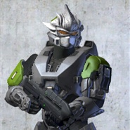 My halo3 spartan by Orchliet