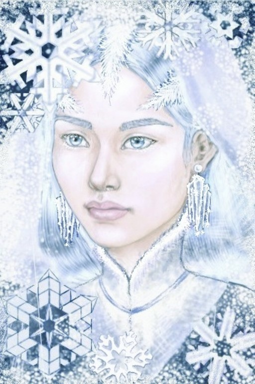 the snow queen by Flrmprtrix