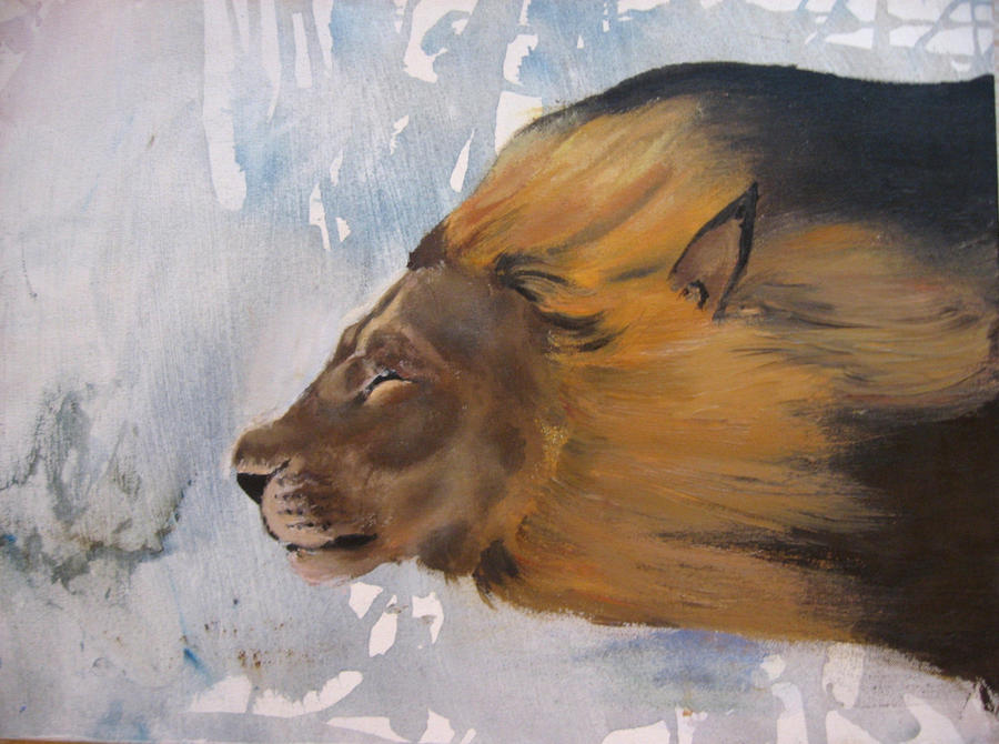 bullet lion by Flrmprtrix