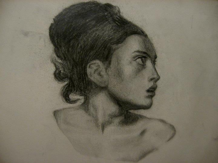 Delacroix study by Flrmprtrix
