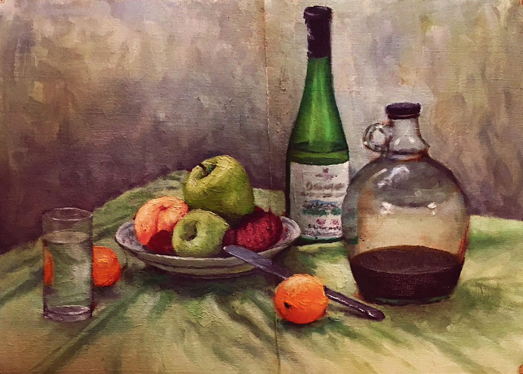 Still life study by Flrmprtrix