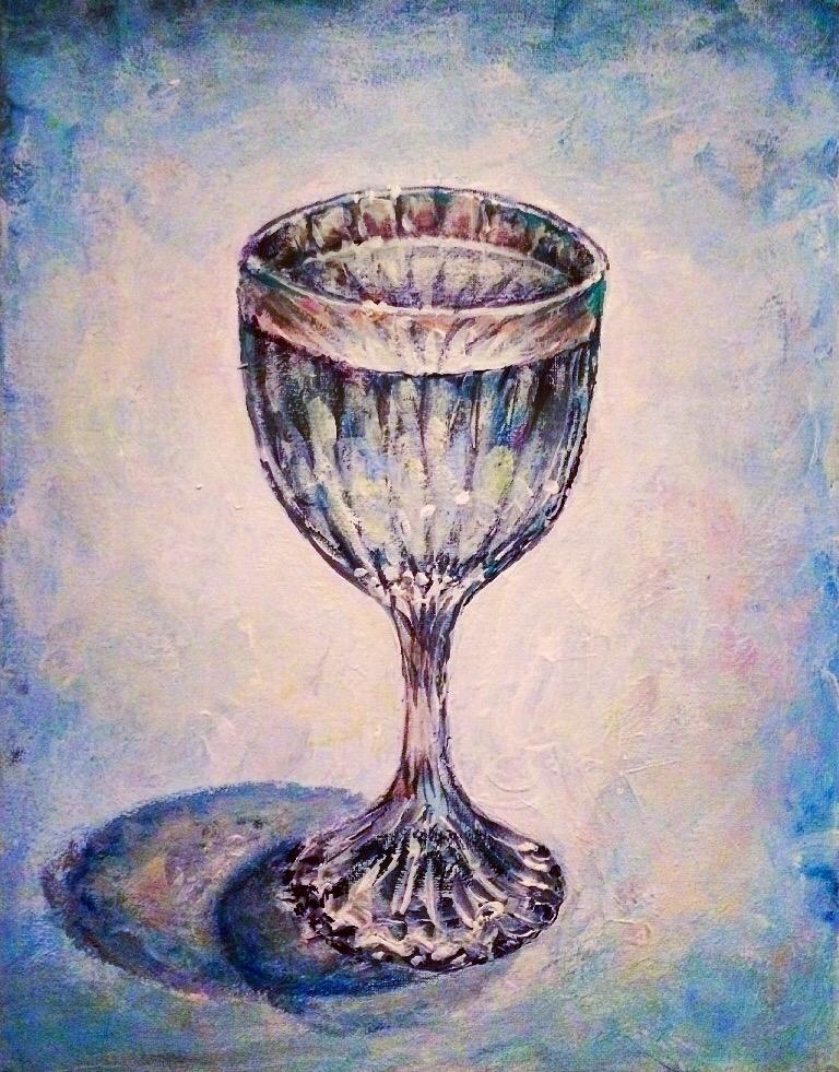 Glass 1/4th empty by Flrmprtrix