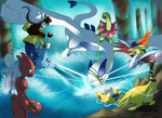 lugia battle
