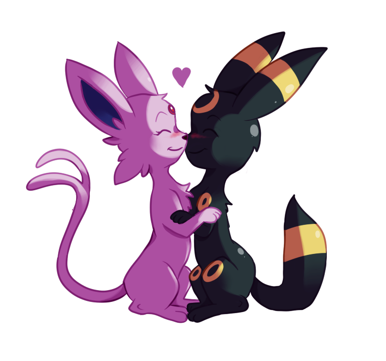 Umbreon and espeon by CuteSkitty on DeviantArt