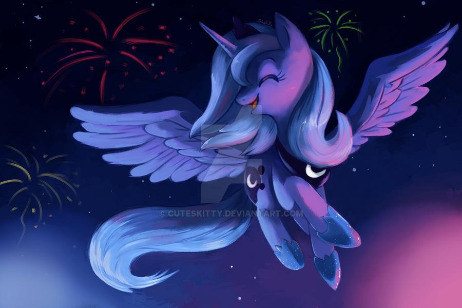 Luna by CuteSkitty