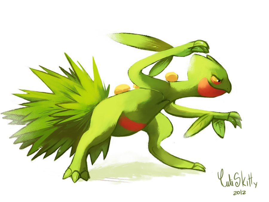 Sceptile by CuteSkitty