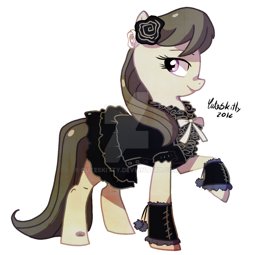 Octavia in Dress by CuteSkitty