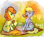 Derpy and Carrot 02