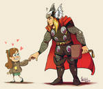 Mabel and Thor