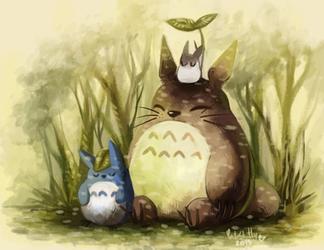 Totoro by CuteSkitty