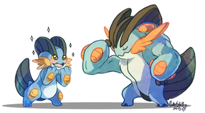 Swampert by CuteSkitty