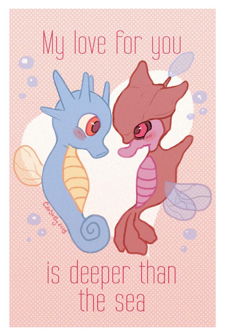 Deeper than the sea by CuteSkitty