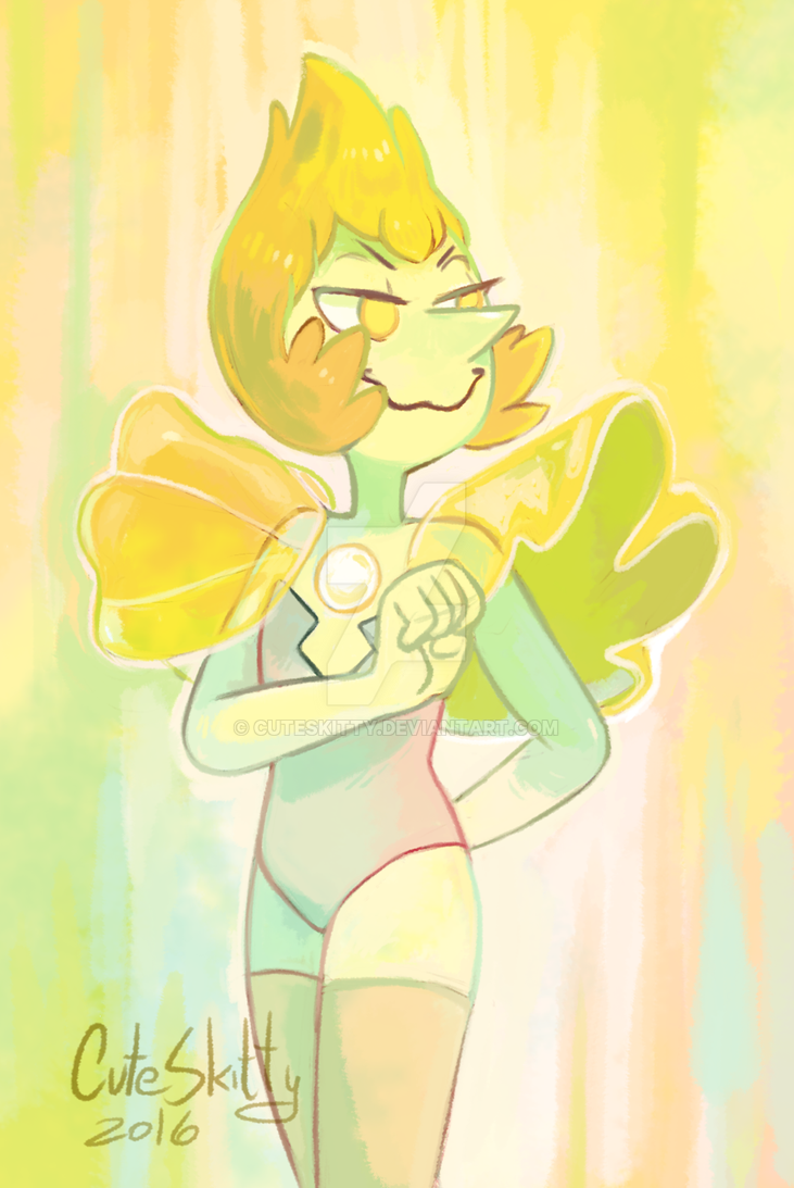 Yellow Pearl by CuteSkitty
