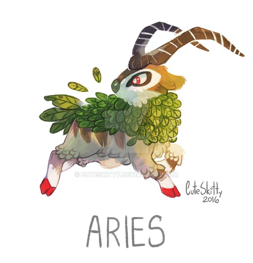 Pokemon Zodiac - Aries by CuteSkitty