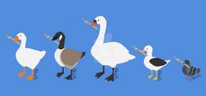 Untitled Goose Art