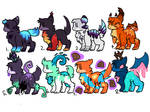 Adopts - 10 points each