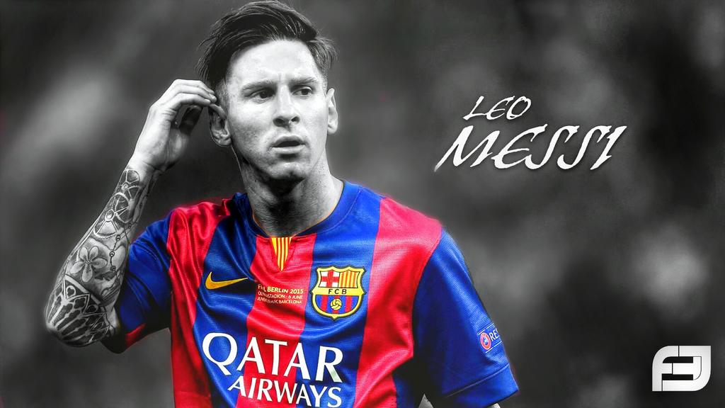 Messi Wallpaper Edit 2015 By Ahmadhajjouz