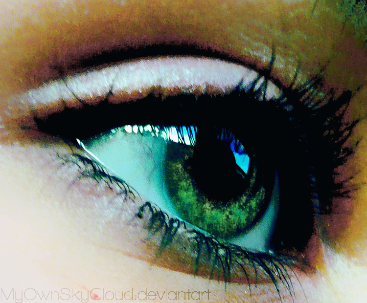 when my eyes still wide open   by MyOwnSkyCloud Beauty is Truly in the Eyes of the Beholder