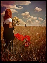 One old film farewell dasiy by OkTaYBiNGoL