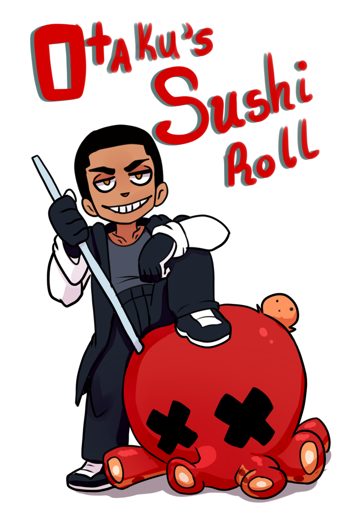Otaku's Sushi Roll by ArttMadness