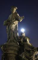 Statue - Charles Bridge by StevenWard