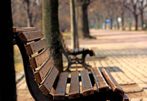 Bench- Prague by StevenWard