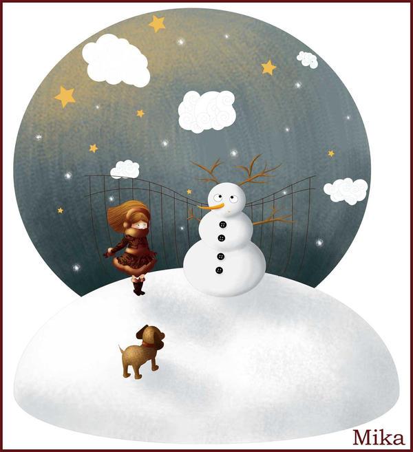 winter by mikakoO