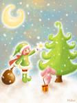 merry christmas by mikakoO
