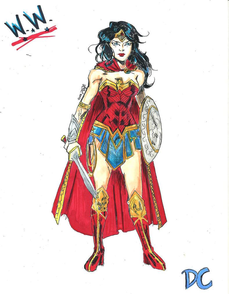 Wonder Woman by lesliemint