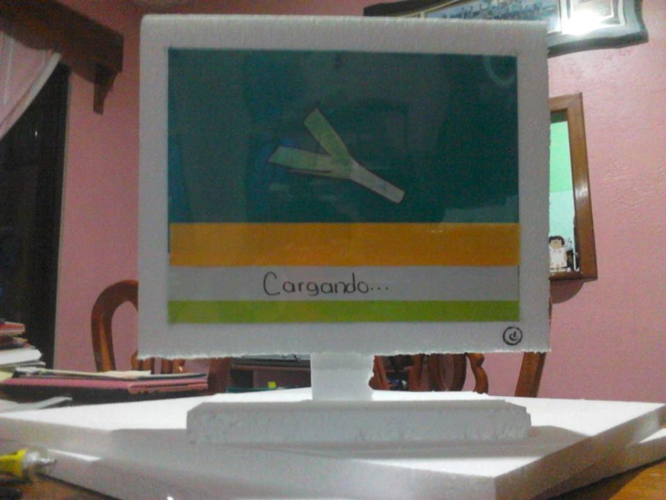 Maqueta de computadora :D by aylincita2498