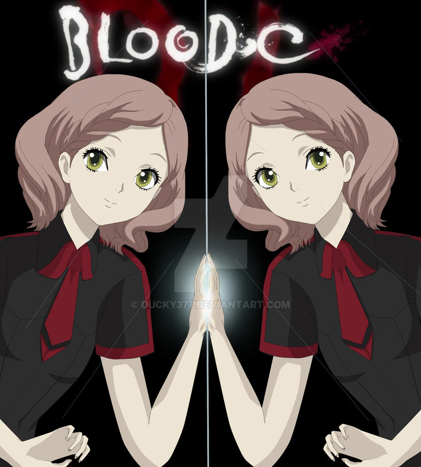 Anime Twins Boy Girl Blood C Mirror Twins b...