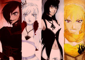 RWBY by Phoenshire