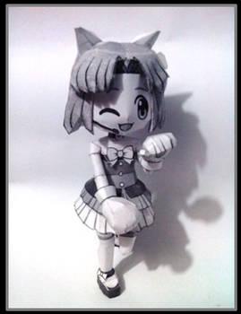 Miss Moneko - Battle Cats