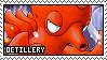 Octillery fan stamp
