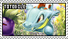 Totodile fan stamp by Unknown-Shadow66